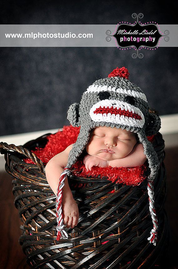 Well have to try this pic since we got one of these hats pdf crochet sock monkey hat pattern file by loreleiscustomcrafts dt1010fo
