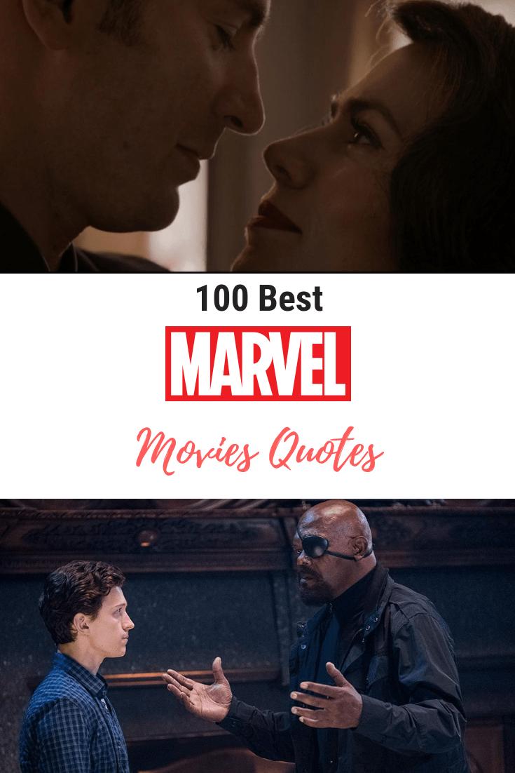 100 Best Marvel Movie Quotes Inspirational Marvel Quotes Funny Marvel Quotes Marvelmovies Movie Quotes Funny Best Marvel Movies Marvel Quotes