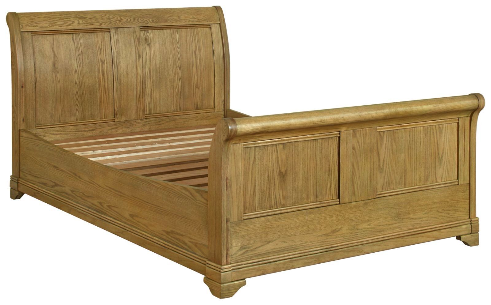 Highly sprung trade chateau oak double bed beds at trade prices