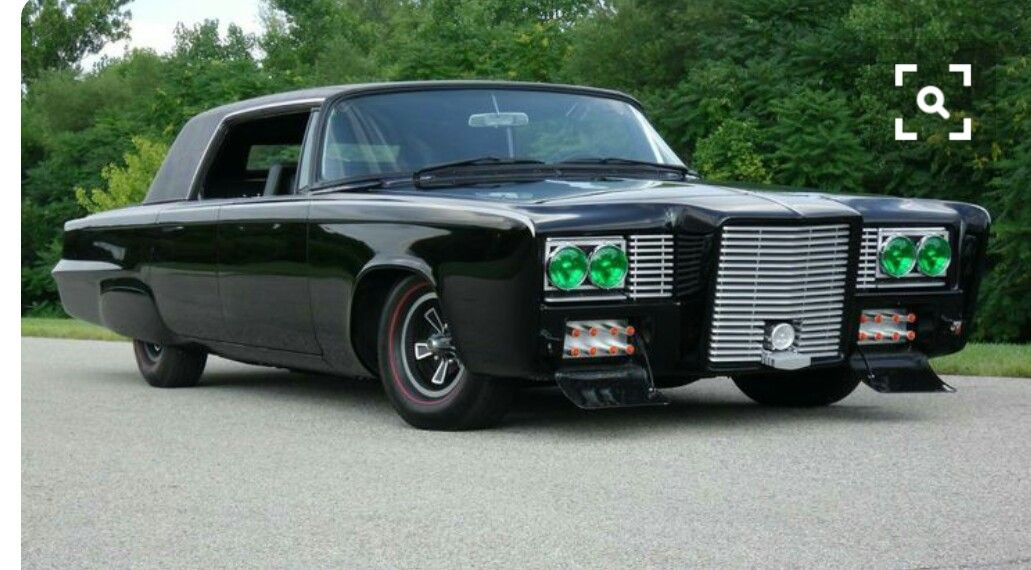 1965 Imperial Deluxe Black Beauty George Barris Custom From