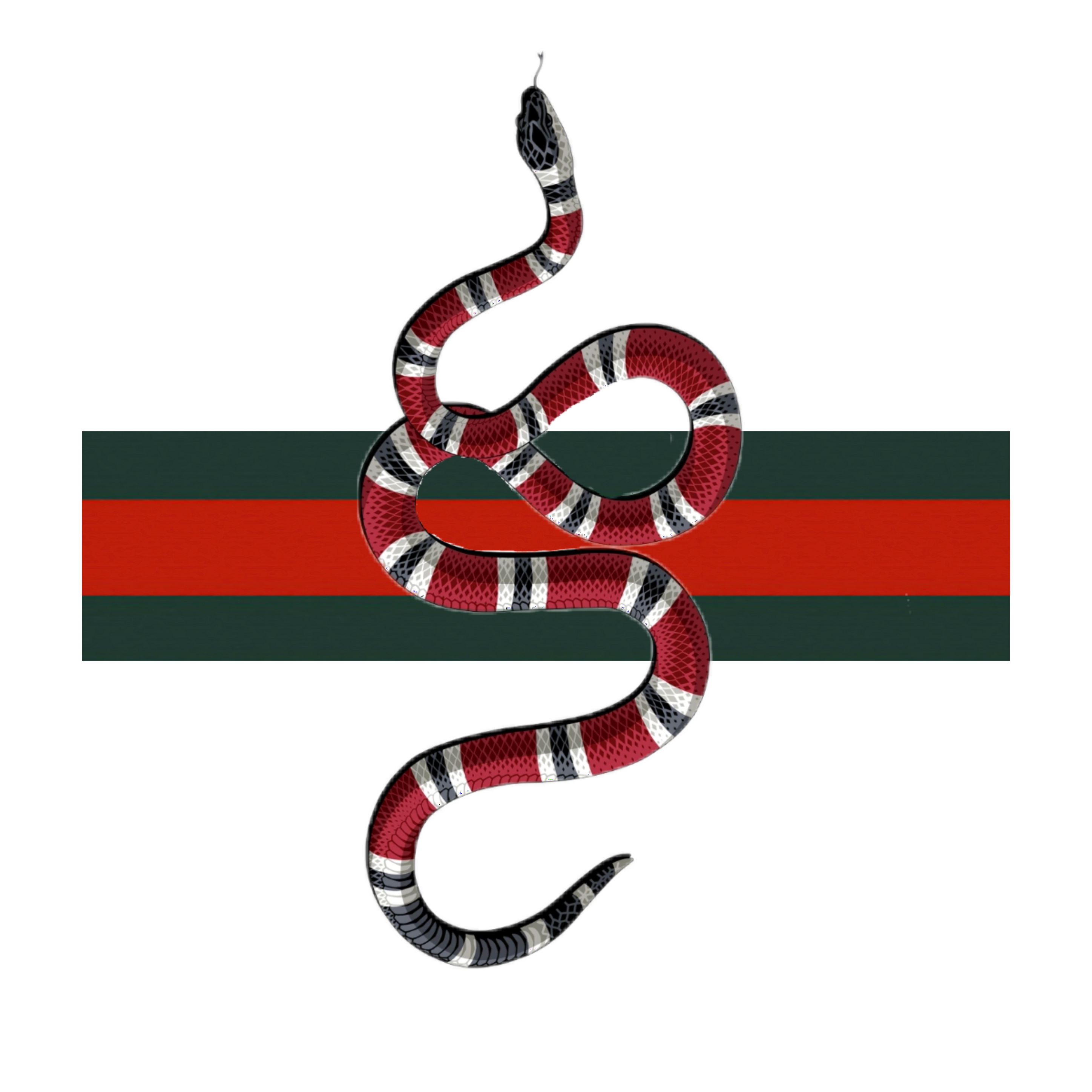 Freetoedit Gucci Remixit Snake Wallpaper Stickers Iphone Case Covers