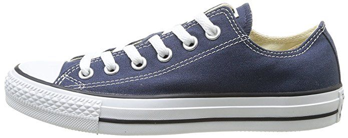 Converse Chuck Taylor All Star Ox Low Top Navy Sneakers - 4.5 D(M)