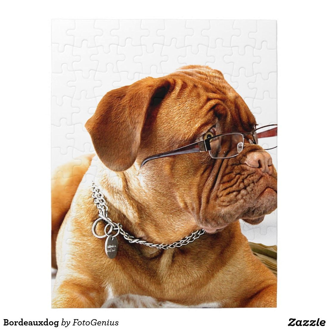 Bordeauxdog Jigsaw Puzzle