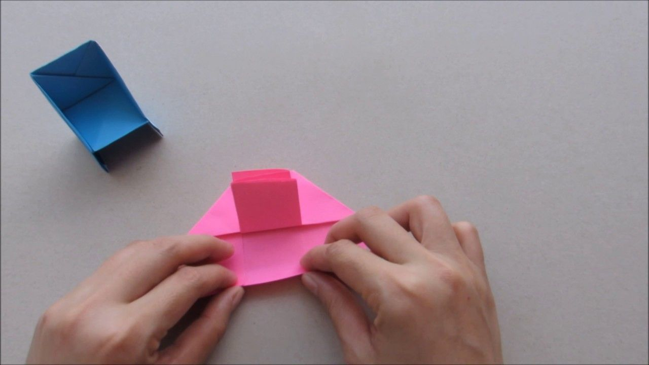 How To Make An Origami Paper Chair