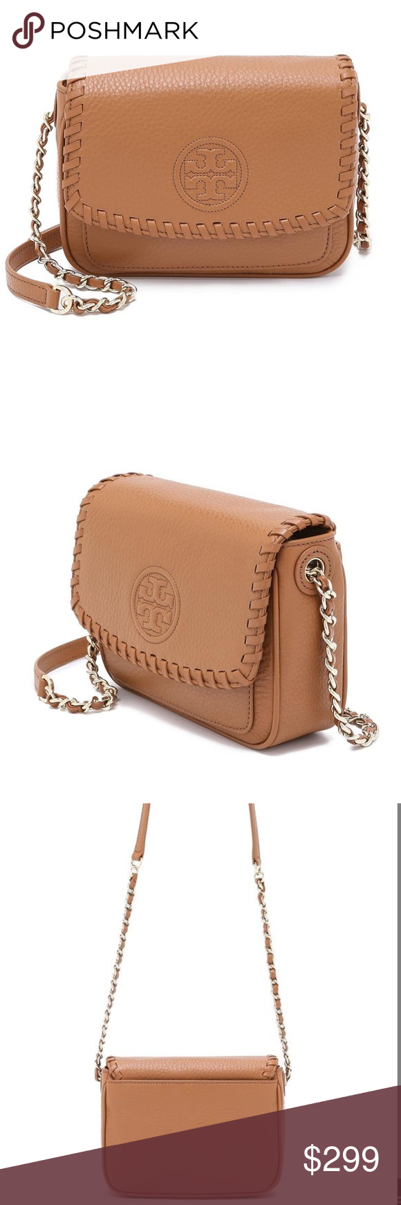 Brand New Tory Burch Crossbody With Tags And Never Used Fleming Convert Medium Bag