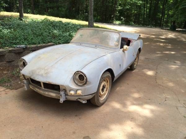 1963 triumph spitfire mark 1 rare barn find in charlotte nc craigslist auctions and for. Black Bedroom Furniture Sets. Home Design Ideas