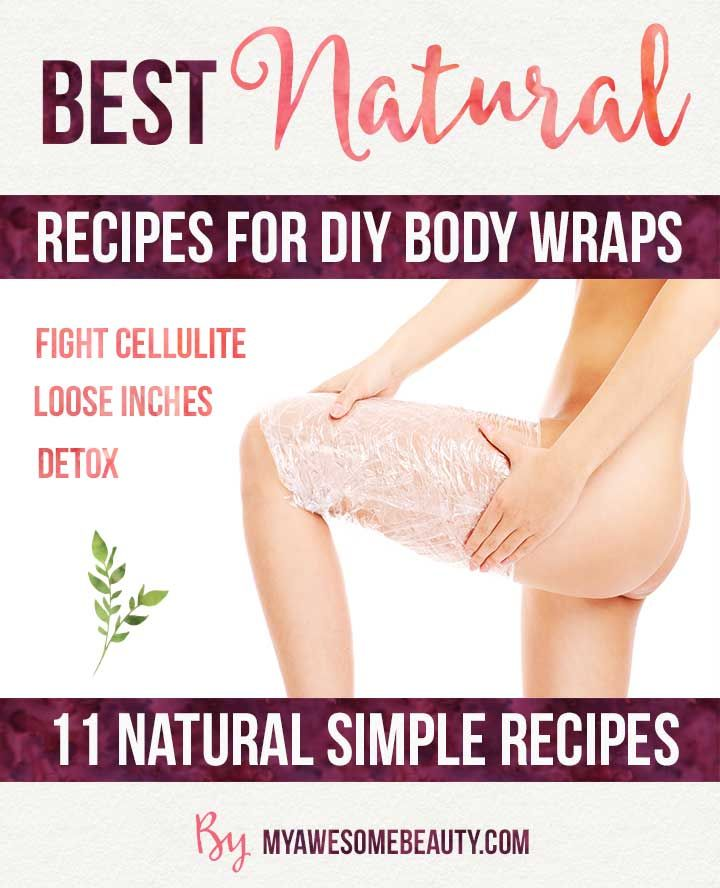 Best Homemade Body Wrap Recipes That You Can Easily Do At Home For