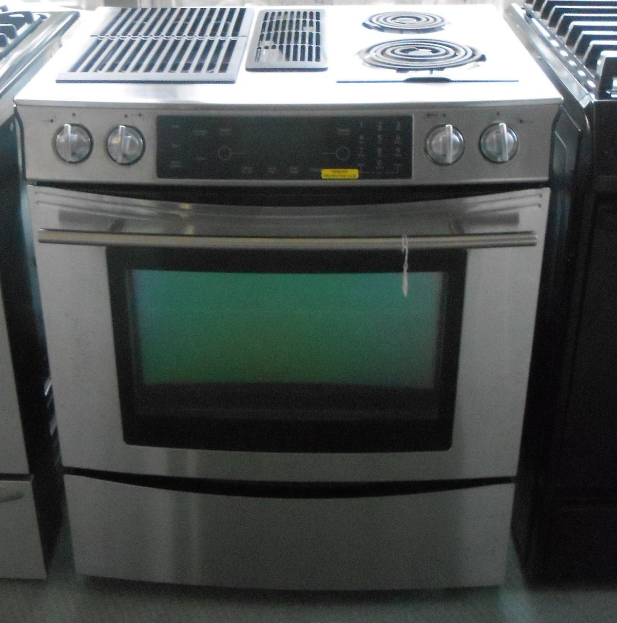 Appliance City Jenn Air 30 Inch Slide Electric Range