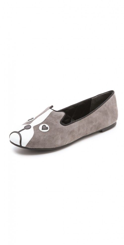 5ec433f0c3 Marc Jacobs Marc Dog Loafers   Shoes and Footwear Lace Up Ballet Flats,  Grey Dog