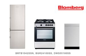 Attractive Blomberg 3 Piece Apartment Sized Kitchen Appliance Package  Apartment Appliance Packages