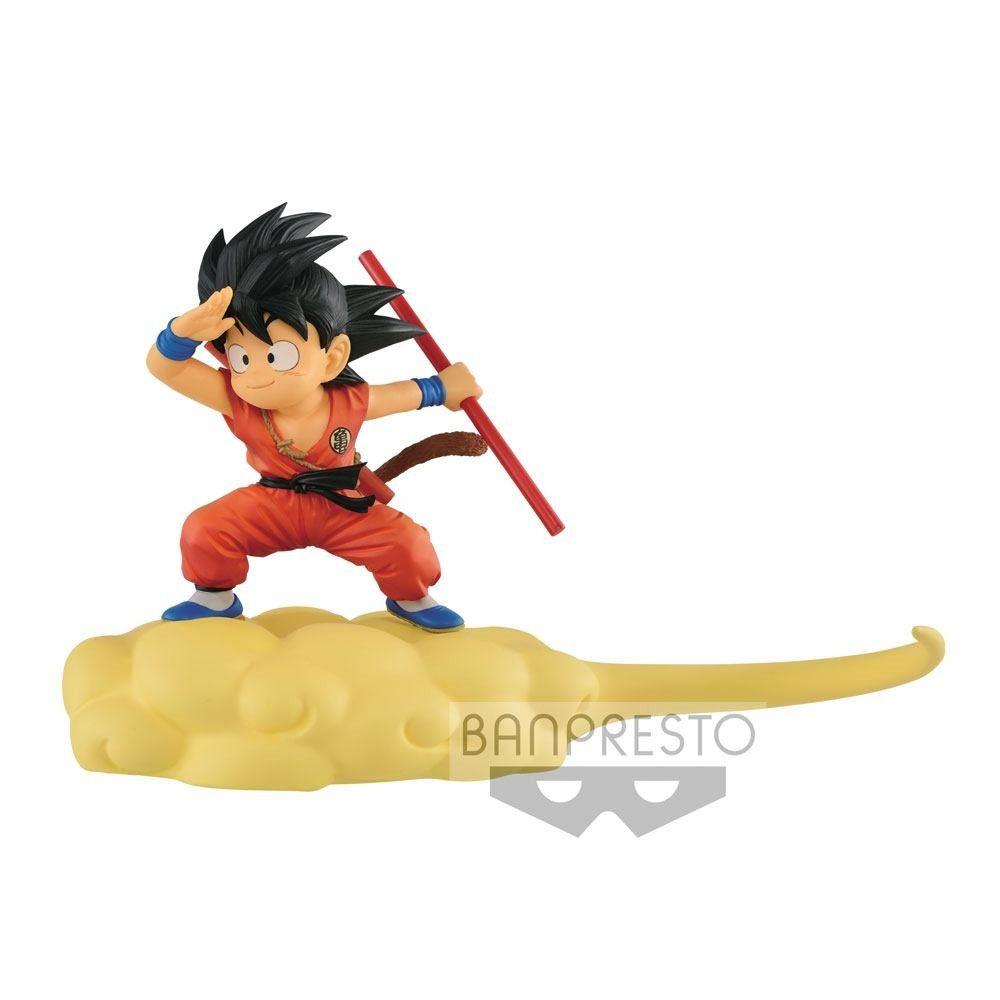 Dragonball Kintoun Figure Son Goku On Flying Nimbus Normal Color Ver 13 Cm Mondo Action Figure Son Goku Kid Goku Dragon Ball Goku