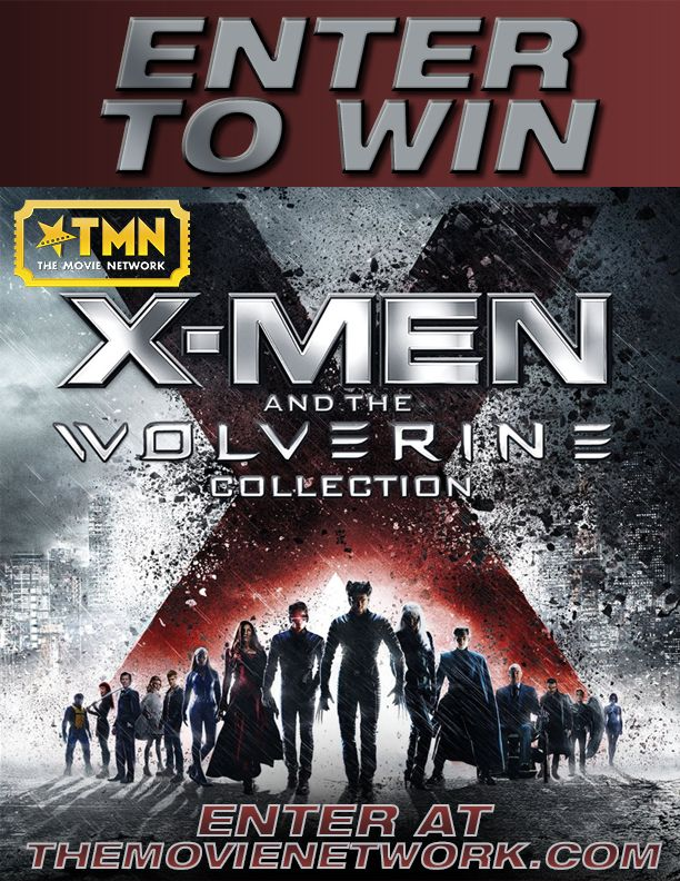 Win XMen and the Wolverine Collection on Bluray thanks to