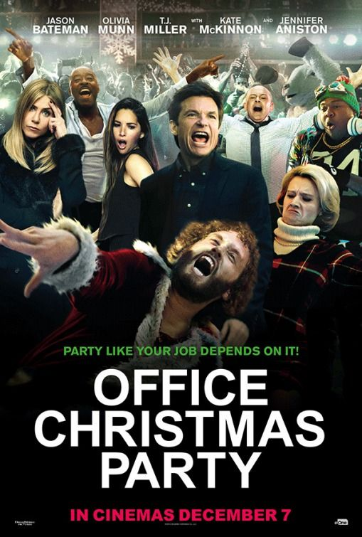Office Christmas Party International Poster Posters Office