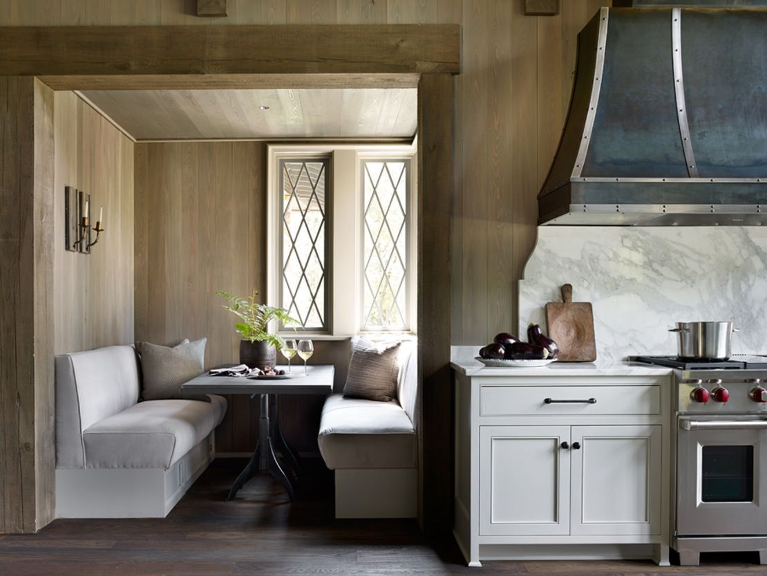 Ferguson Residence Birmingham Alabama Breakfast Room Rustic By Jeffrey Dungan Architects