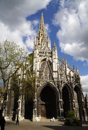 West Facade of Saint-Maclou, Rouen, France | Places to Experiance ...