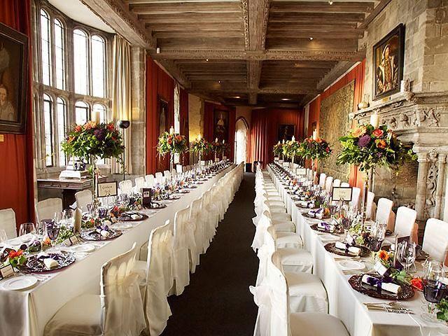 Leeds Castle Henry Viii Banqueting Hall Maidstone Kent England