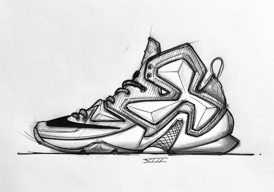 A Sketched History Of Jason Petrie's Nike LeBron Designs - SneakerNews.com