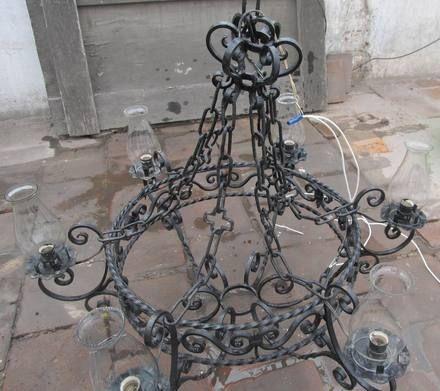 Fotos De Vendo Lampara Colgante Hierro Forjado Lima New Orleans Decor Chandelier Ceiling Lights