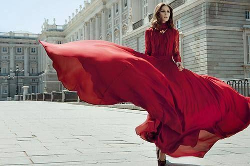 long skirt dress.