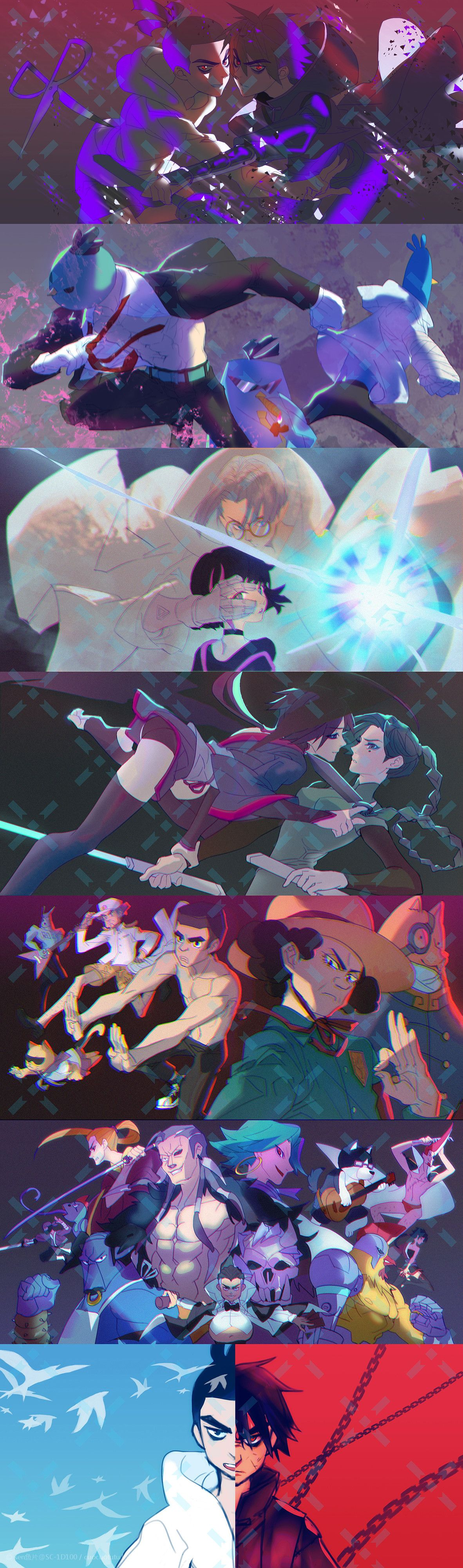 Pin by nia on 刺客伍六七 in 2020 Anime lovers, Anime, Cool