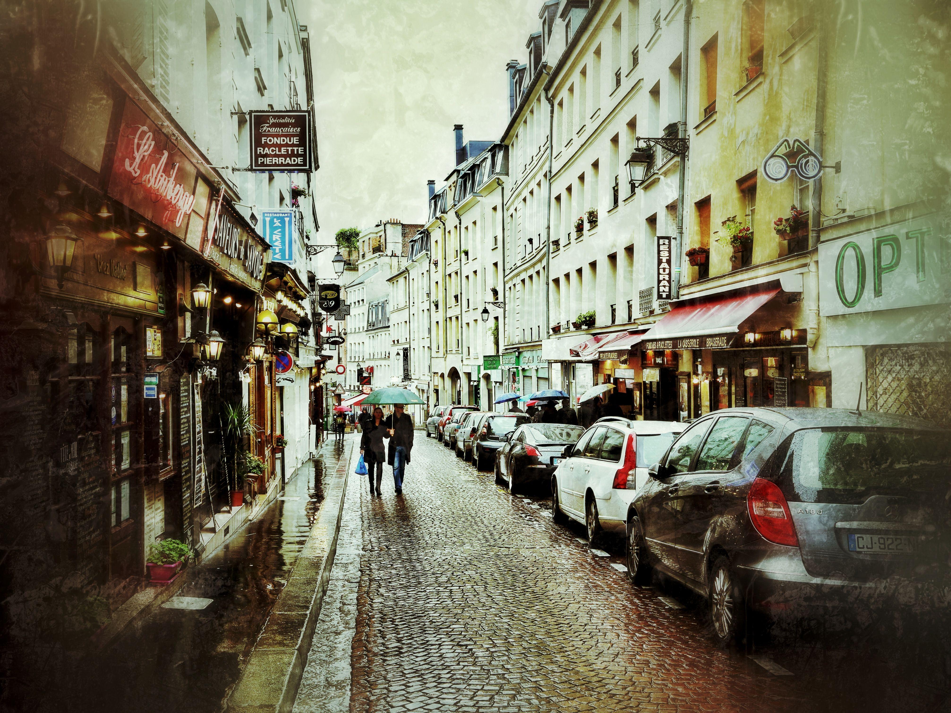 Paris Street Cafe Wallpaper Streets of paris | STREETS ...