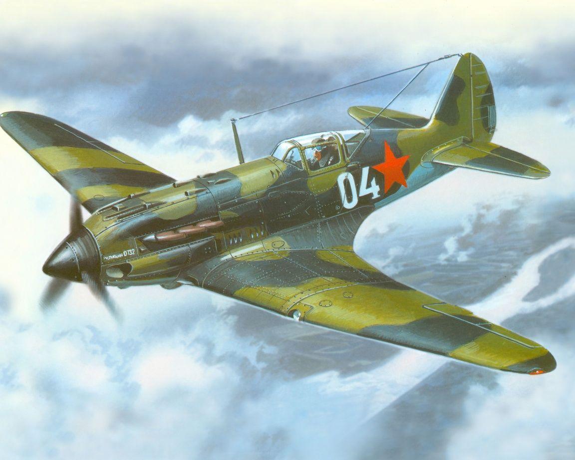 Обои Mig ii, Самолёт. Авиация foto 7