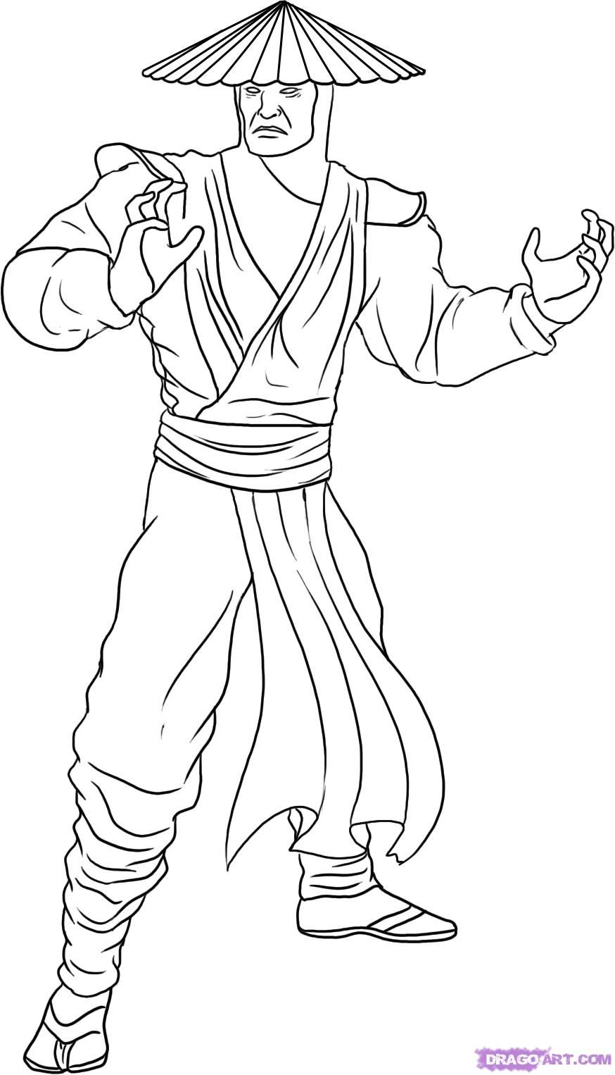 Mortal Kombat Drawings Bing images Coloring pages