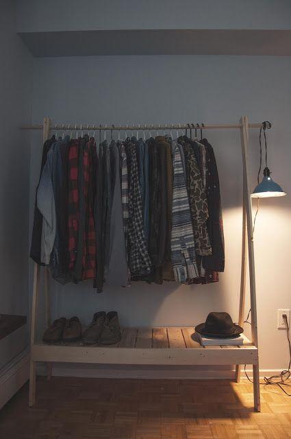 Ten Zero Nine Diy Wooden Clothes Rack