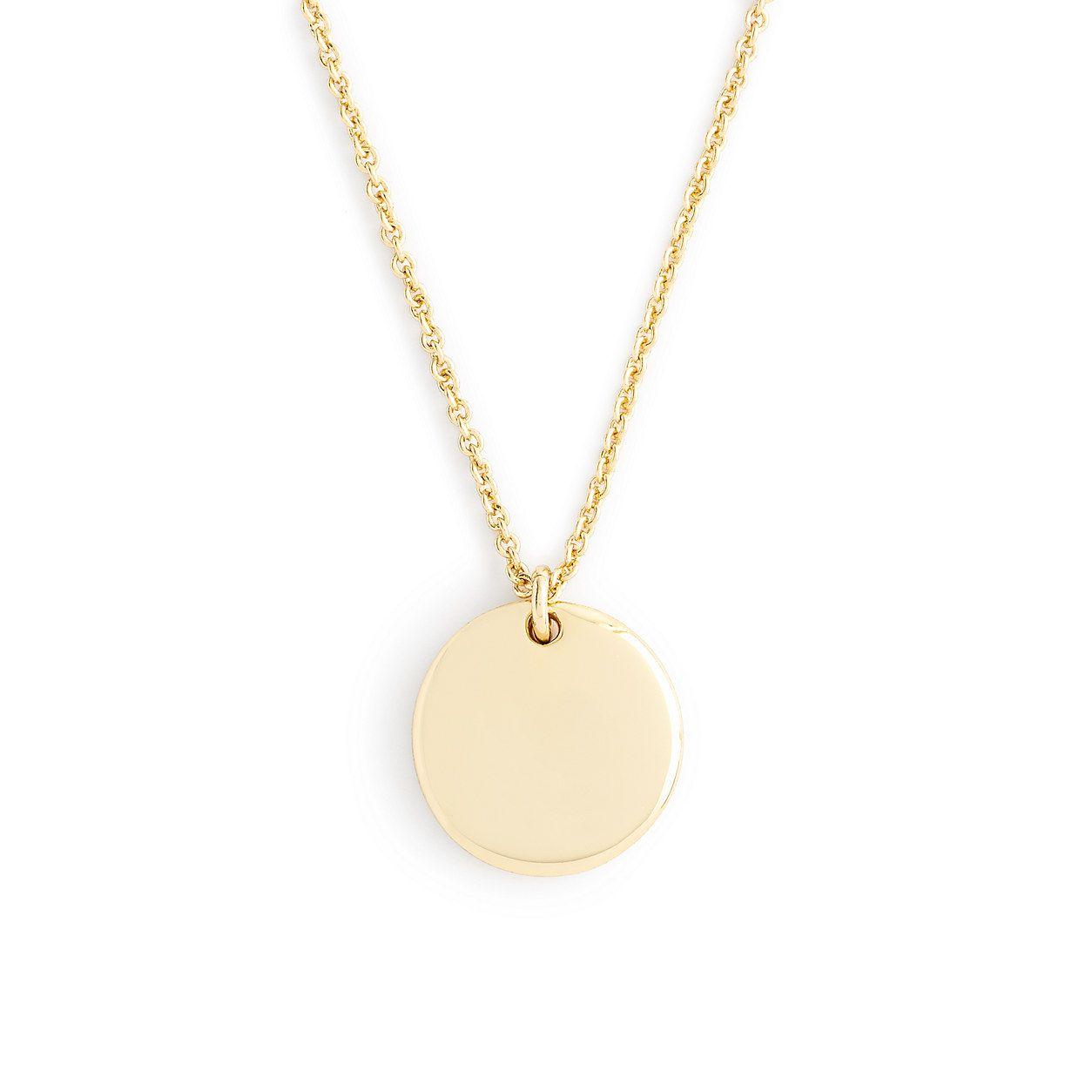 Fine Jewelry Womens 14K Gold Pendant Necklace KEHDx