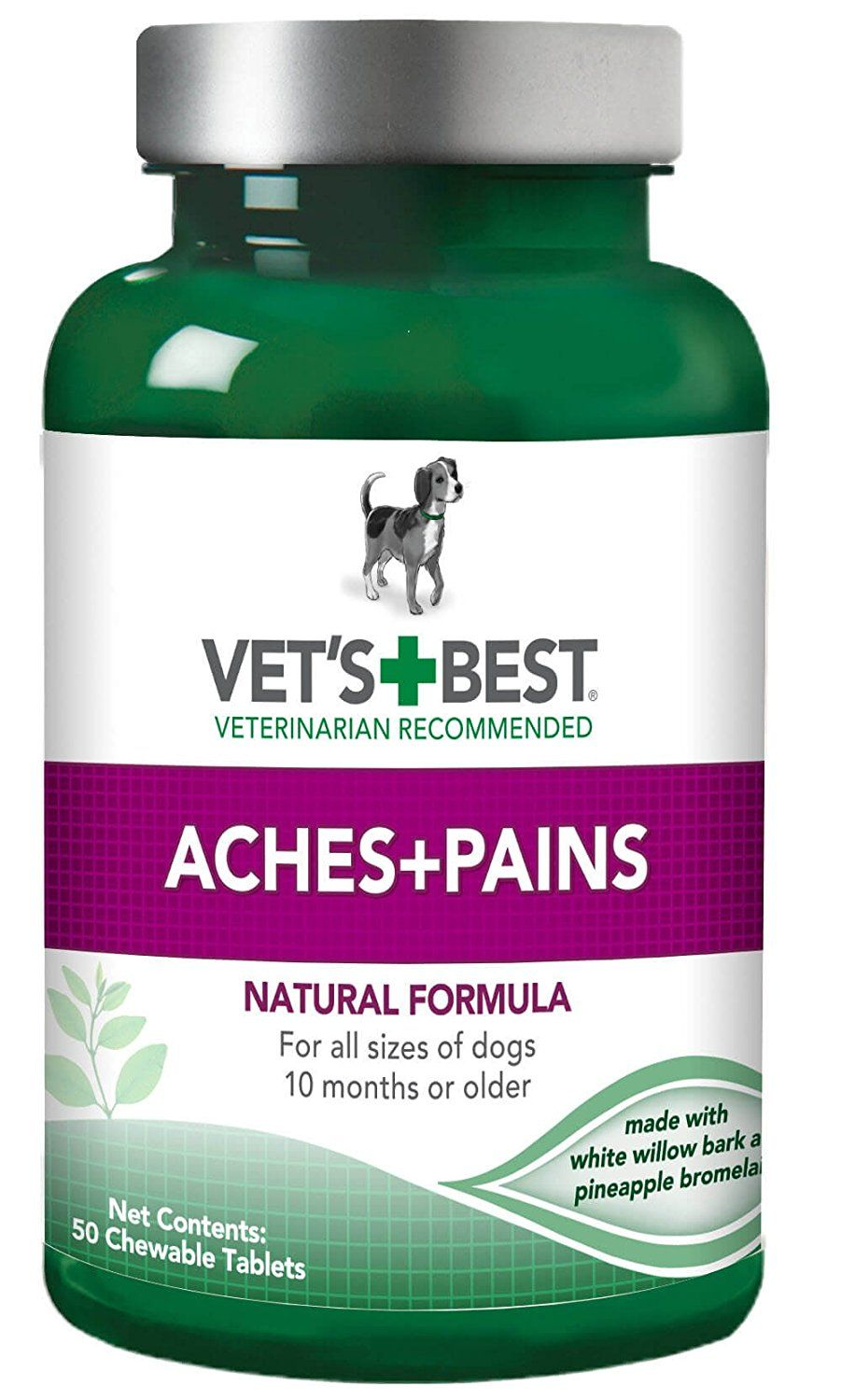 Amazon Com Vet S Best Aspirin Free Aches And Pains Dog Supplements Usa Made Pet Supplements And Vitamins Pet Supplies Seasonal Allergies Dog Snacks Itch Relief