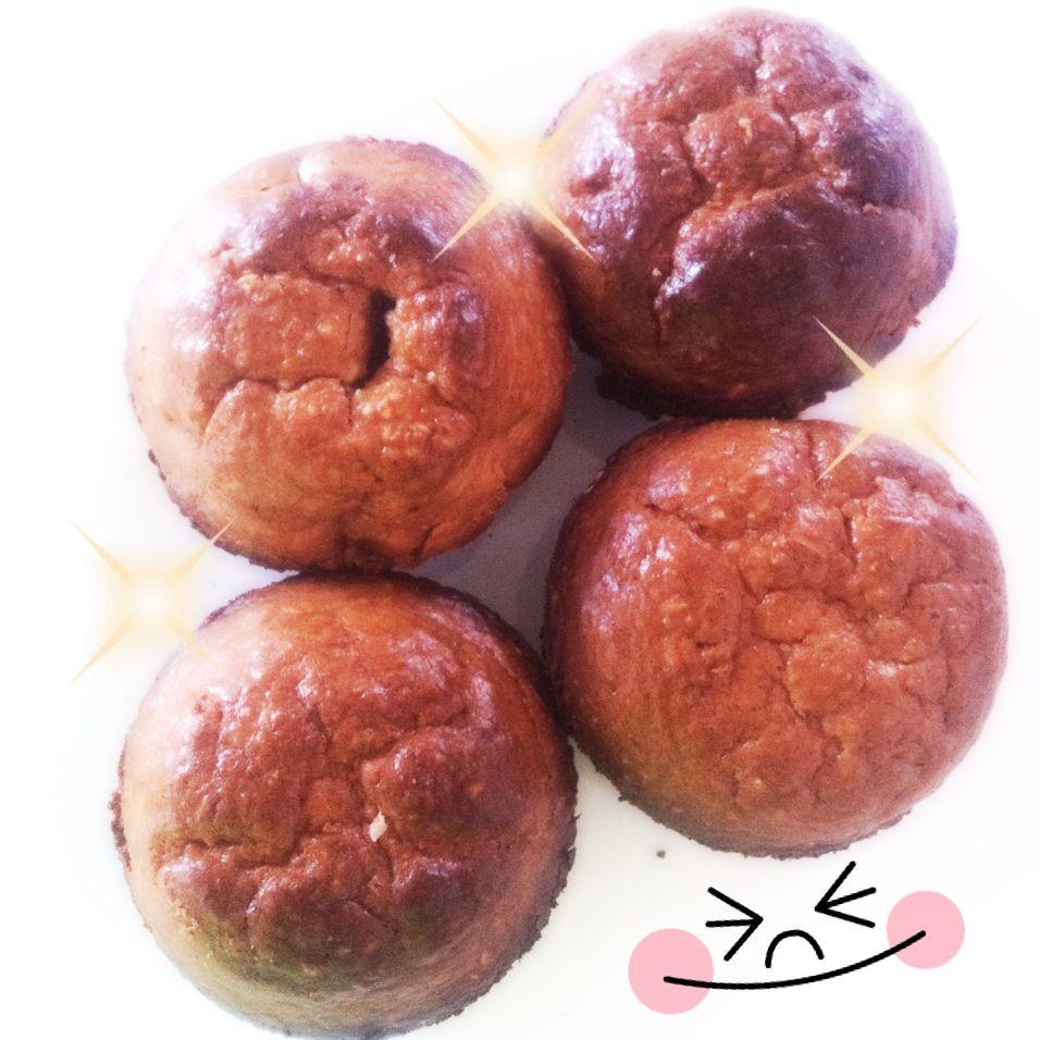 Muffins de fresa y plátano