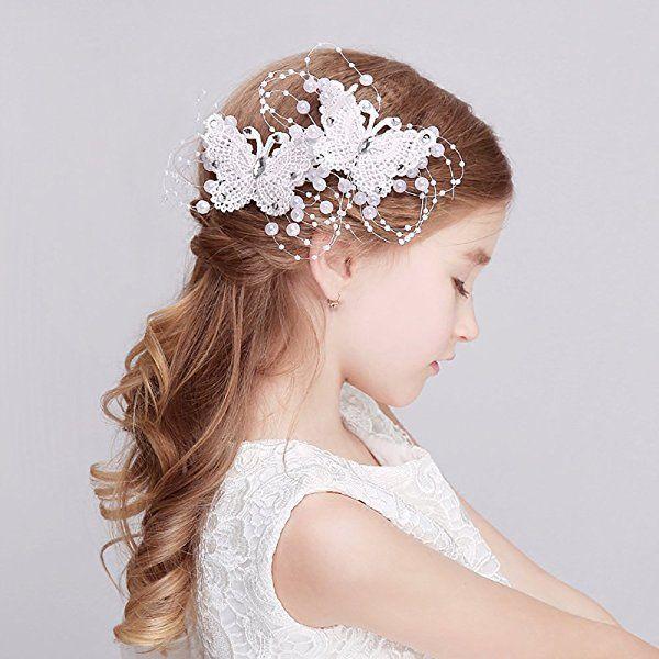 Fvermecky子供髪飾り 発表会 ヘアアクセサリー ジュニア フォーマル