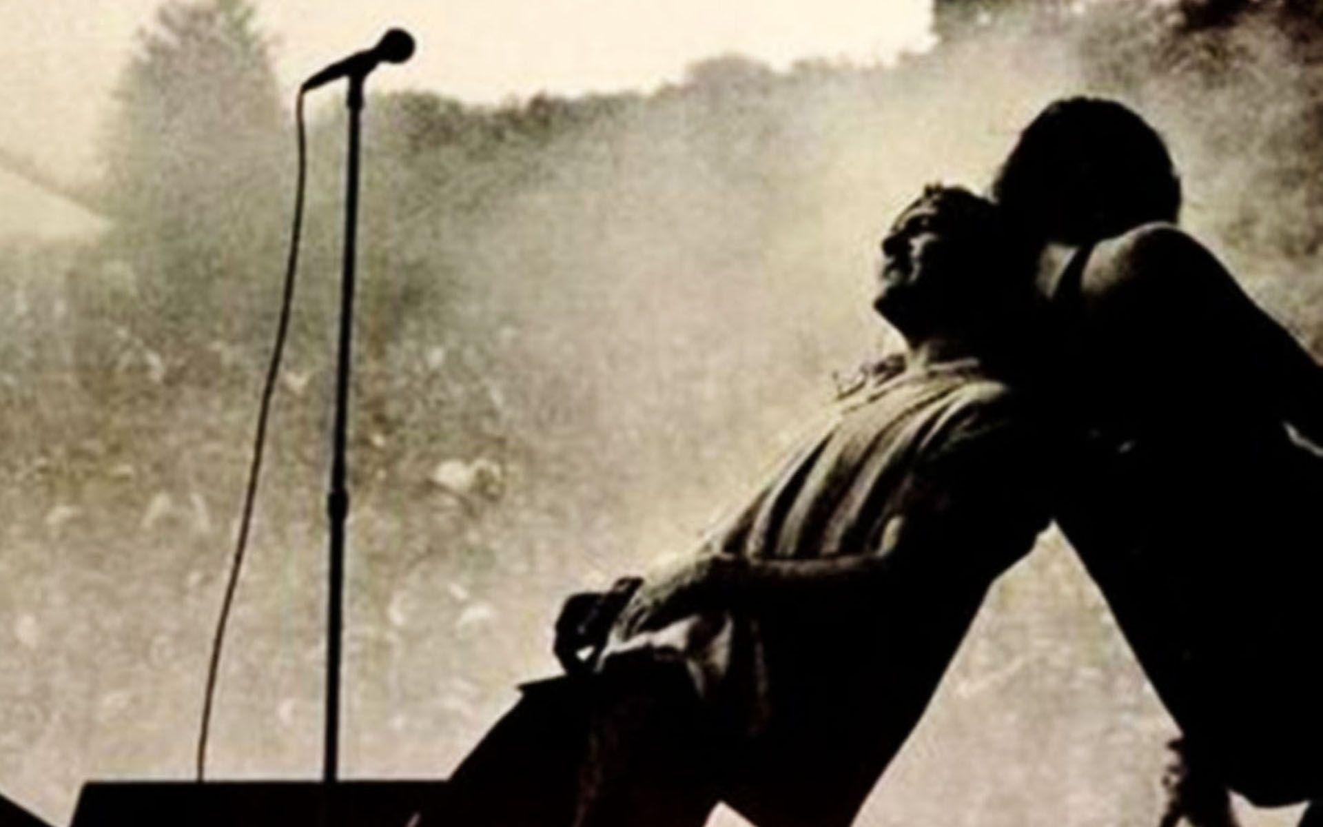 Pearl Jam Live in Concert Eddie Vedder Poster