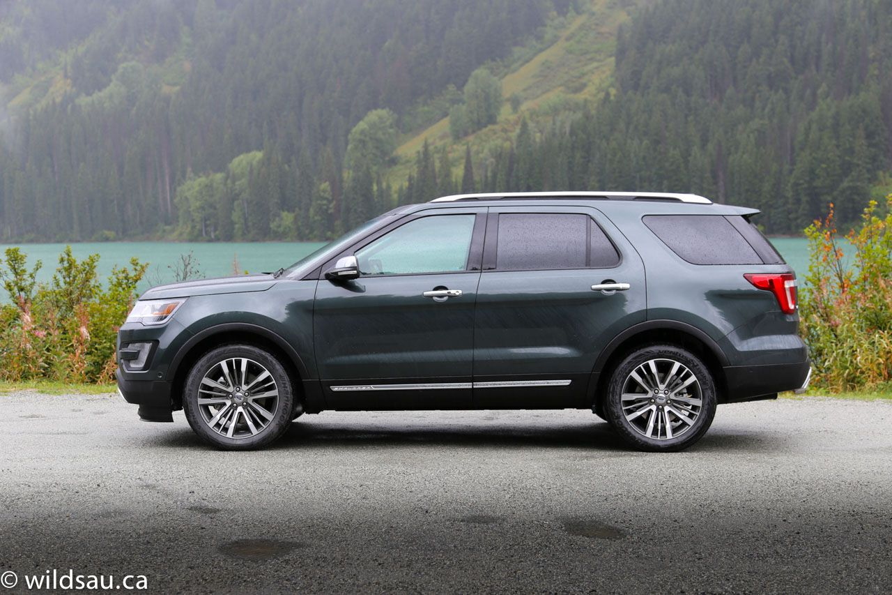 First Drive 2016 Ford Explorer Platinum (Review) Coches