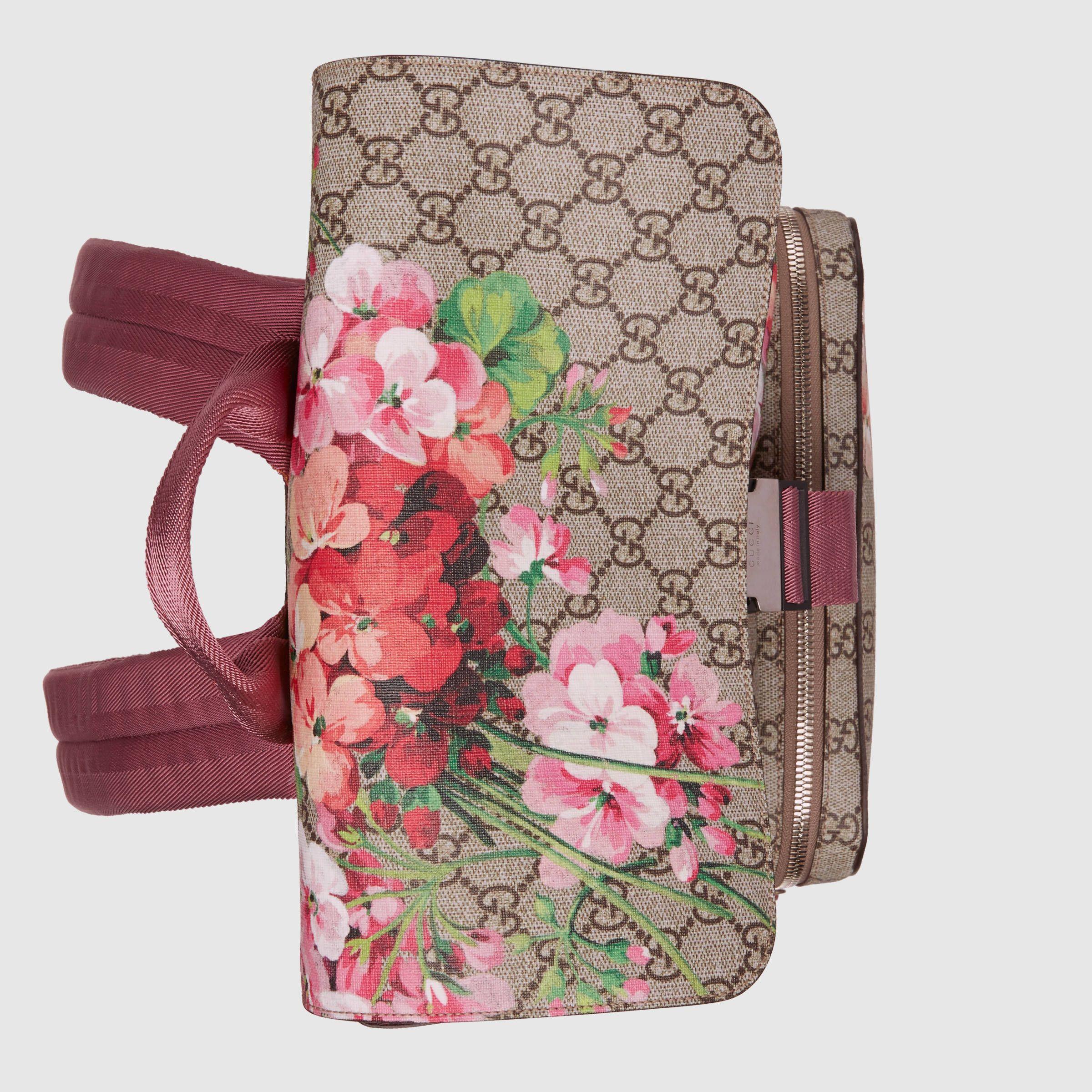 b19ae6e7e73342 GG Blooms backpack - Gucci Women's Backpacks 405019KU2BN8693 ...