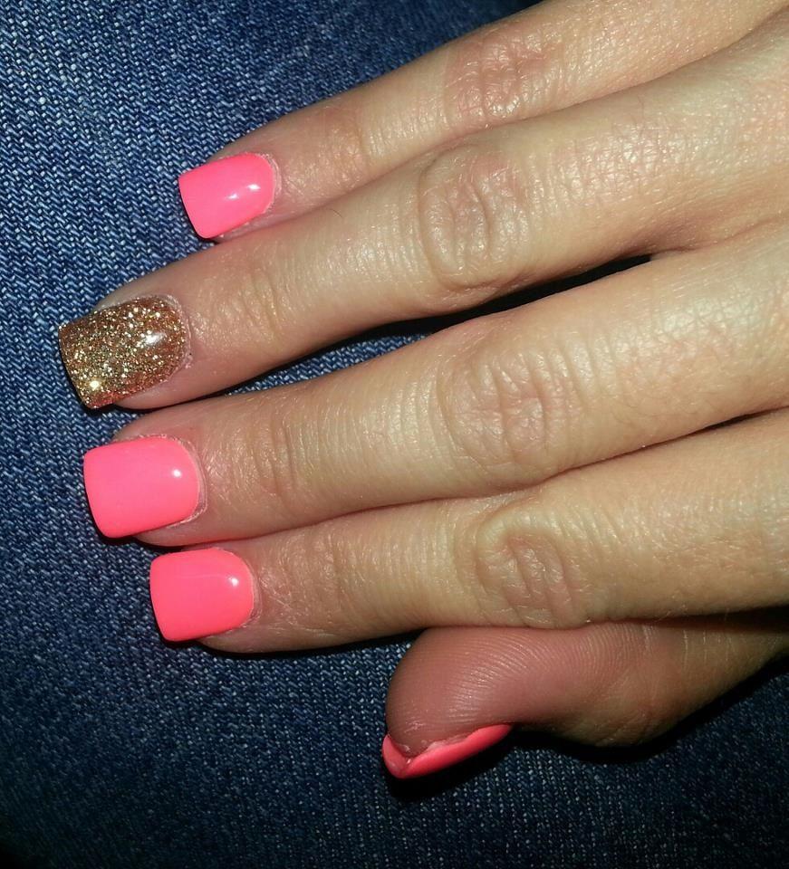 Square Acrylic Nails, Nails