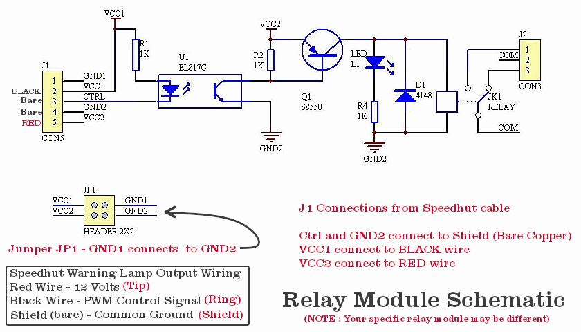 Relay Module Schematic