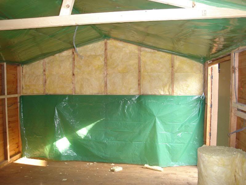 insulating a shed shed workshop pinterest. Black Bedroom Furniture Sets. Home Design Ideas