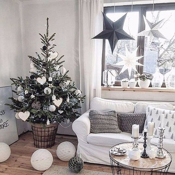 30+ Small Christmas Trees Ideas to Decorate your Home With 'coz Happiness comes in these Small Packages - Hike n Dip