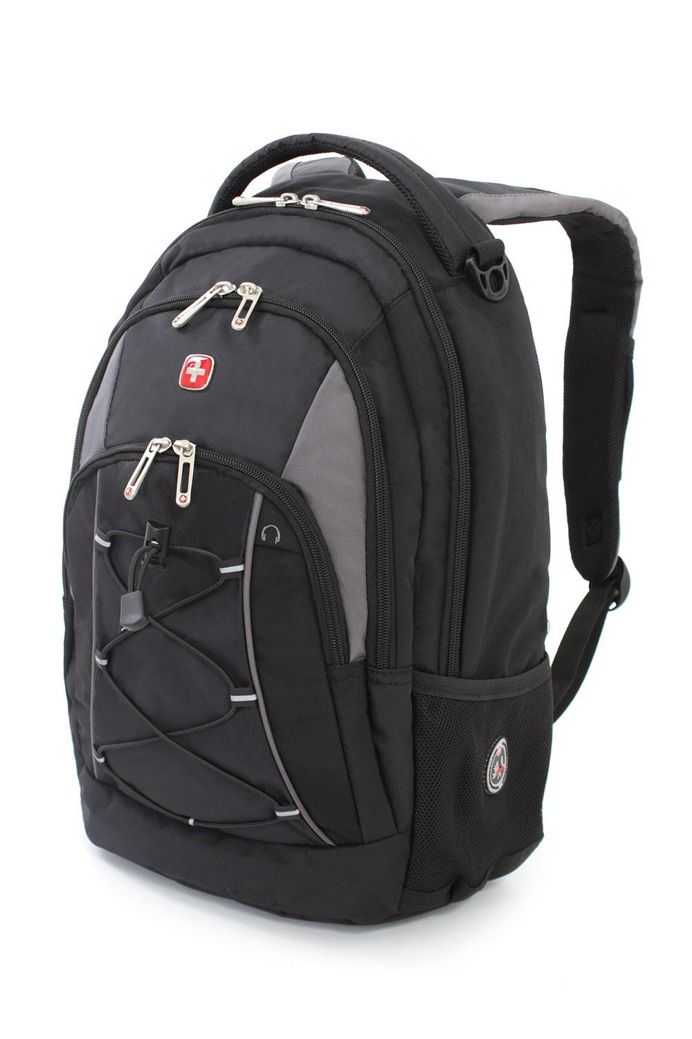 531562600 1186 Laptop Backpack - Black/Gray | Swiss Gear - Backpacks ...