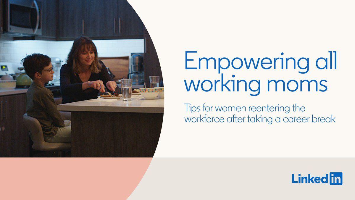 LinkedIn (LinkedIn) / Twitter in 2020 Working moms