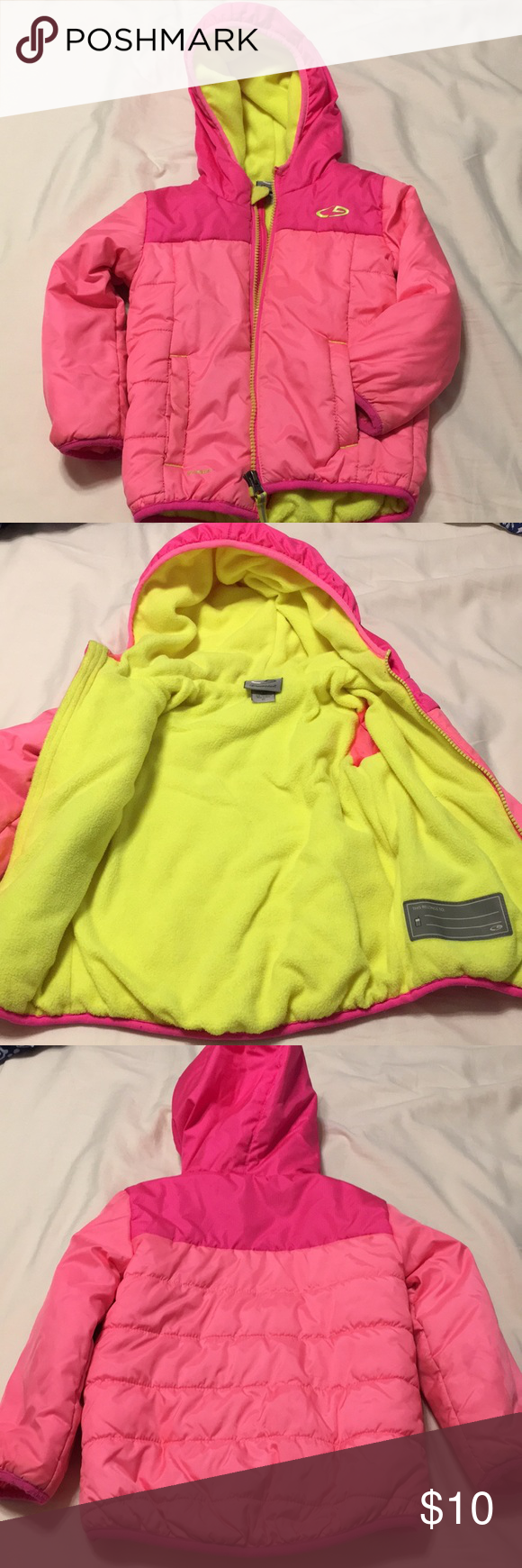 Toddler Puffer Jacket Nice And Cozy Puffer Jacket It S In Great Shape No Major Stains Or Damage See Picture Zipper Jackets Champion Jacket Puffer Jackets [ 1740 x 580 Pixel ]