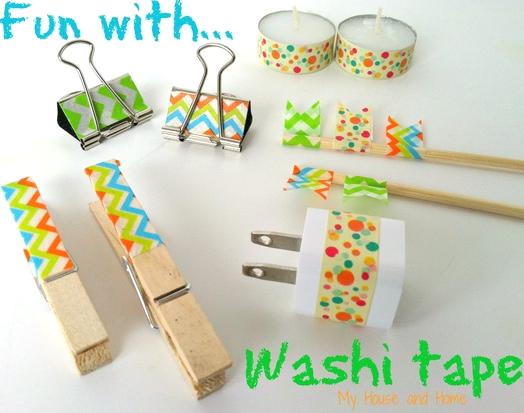 Fun with washi tape!