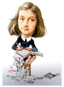 Ana Frank Caricatura Realizada Por Luis Carreño Anne Frank Ana Anne