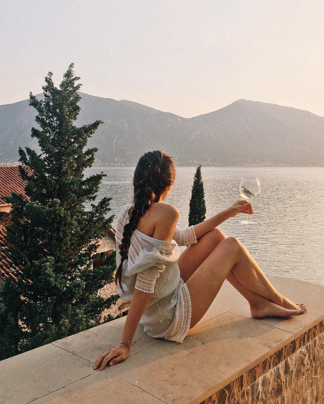 lugares altos, paisagens e drinks