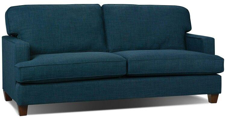 Kent Linen Look Sofa In Blue Queen Size Sofa Bed Blue Sofa Fabric Sofa