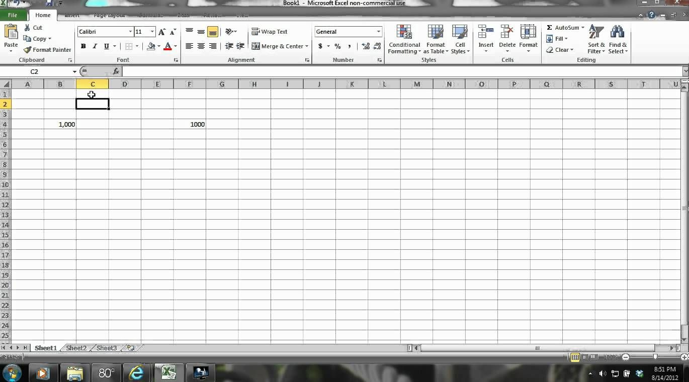 Excel 2010 Tutorial For Beginners Part 1 How to Navigate