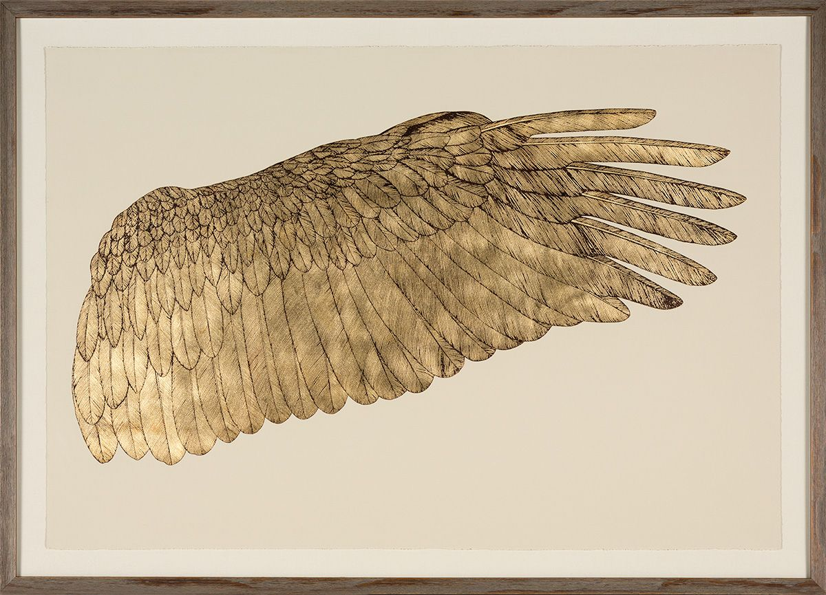 Entry Wings Of Love Goldleaf Right Natural