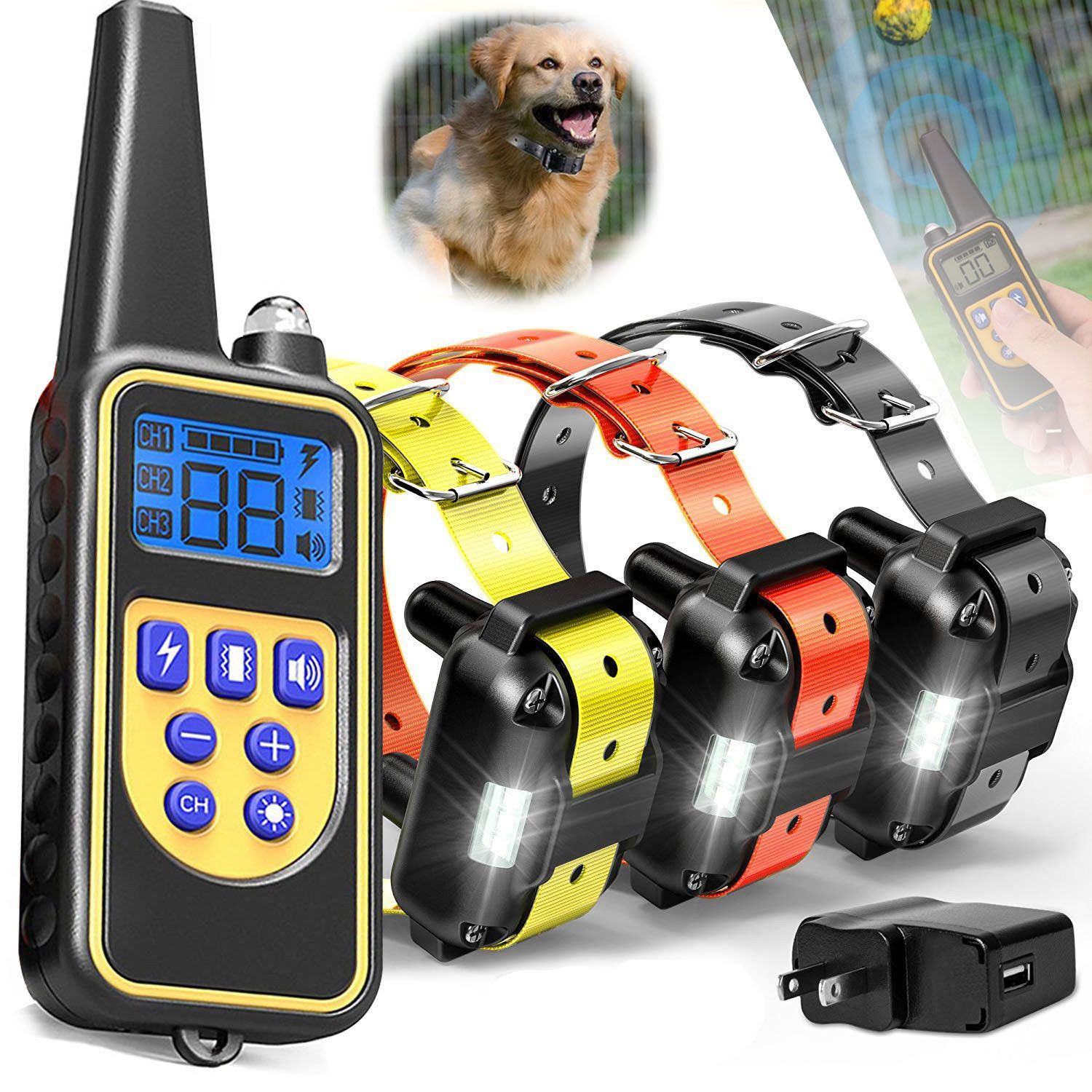 Pets In 2020 Training Collar Dog Training Pet Trainer