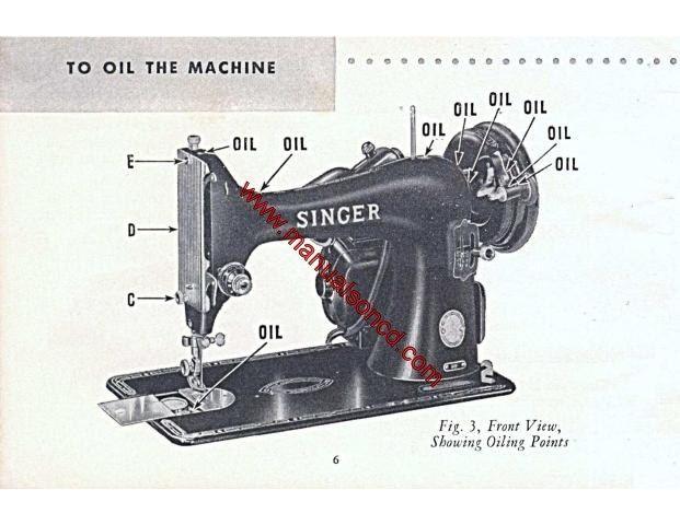 Singer Model 99-31 Electric Sewing Machine Manual 99 31